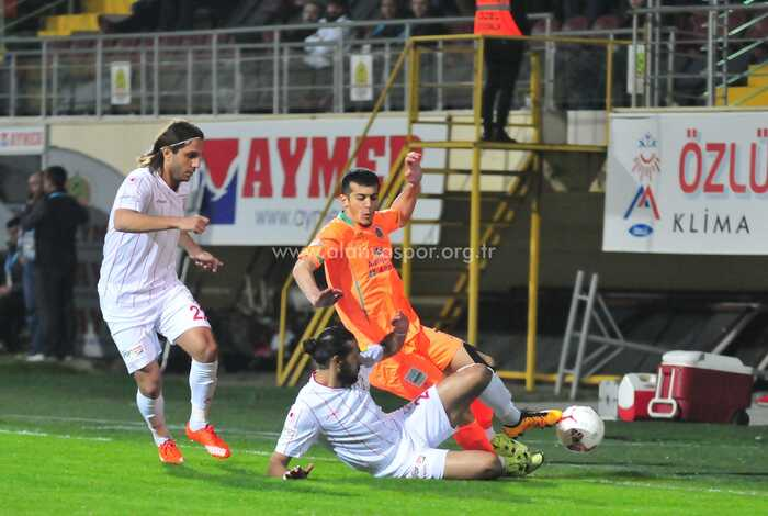 MULTİGROUP ALANYASPOR - BOLUSPOR: 1-0